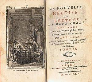 LA NOUVELLE HÉLOISE, OU LETTRES DE DEUX: Rousseau. J. J