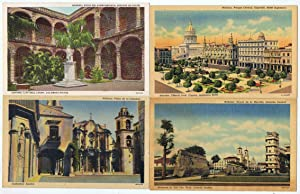 CONJUNTO DE 6 POSTALES DE HABANA (Cuba).: Tarjetas Postales.