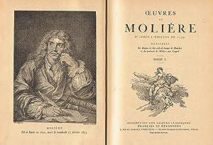 OEUVRES DE MOLIÉRE D'APRÉS L'ÉDITIONS DE 1734: Moliére