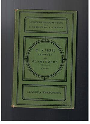 LEERBOEK DER PLANTKUNDE: Geerts. Dr. J.