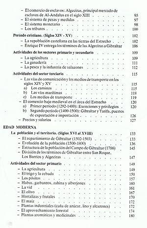 HISTORIA ECONÓMICA DEL CAMPO DE GIBRALTAR.: Torremocha Silva / Humanes Jiménez.