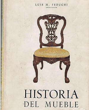HISTORIA DEL MUEBLE.: Feduchi. Luis M.