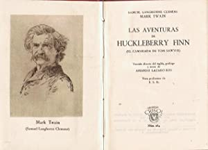 LAS AVENTURAS DE HUCKLEBERRY FINN (El camarada: Twain. Mark, (Samuel