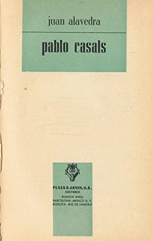 PABLO CASALS.: Alavedra. Juan