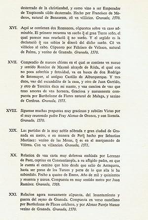 25 PLIEGOS POÉTICOS ESPAÑOLES DE LA BIBLIOTECA UNIVERSITARIA DE CRACOVIA. Siglo XVI. ...