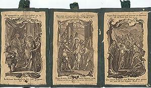 COLECCIÓN DE 12 GRABADOS SOBRE EL JUICIO Y MUERTE EN LA CRUZ DE JESUCRISTO.: Klauber, Catholici. ...