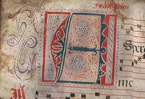 KYRIALE * CANTORAL. Libro Litúrgico Gregoriano. Extracto: Manuscrito música
