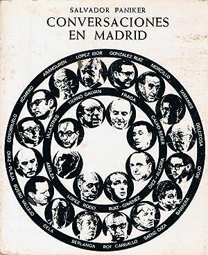 CONVERSACIONES EN MADRID: Paniker. Salvador