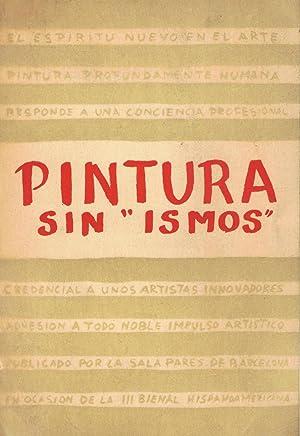 PINTURA SIN ¿ISMOS¿. Sisquella * Togores *: Catálogo