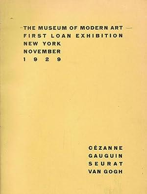 THE MUSEUM OF MODERN ART. FIRST LOAN: Catálogo.