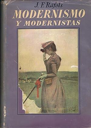 MODERNISMO Y MODERNISTAS.: Ráfols. J. F.