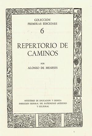 REPERTORIO DE CAMINOS: Meneses. Alonso de