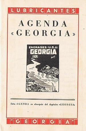 AGENDA GEORGIA. Lubricantes y Engrases Georgia: AA.VV.