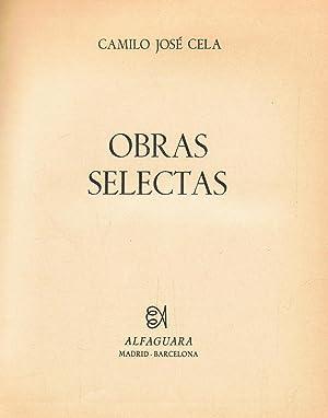 Obras Selectas. LA FAMILA DE PASCUAL DUARTE: Cela. Camilo José