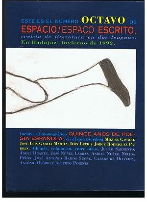 ESPACIO ESPAÇO ESCRITO. Revista de Literatura en: Campos Pámpano /