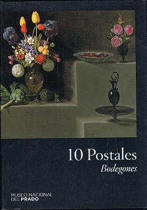 Museo Nacional del Prado. 10 POSTALES. BODEGONES: Arte