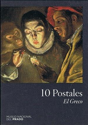 Museo Nacional del Prado. 10 POSTALES. EL: Arte