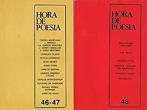 HORA DE POESÍA. Revista de crítica, ensayo y creación poética. Publicación Bimestral. del Número 1,...