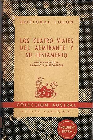 LOS CUATRO VIAJES DEL ALMIRANTE Y SU: Colón. Cristobal
