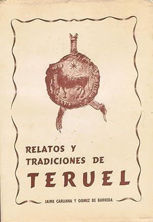 RELATOS Y TRADICIONES DE TERUEL: Caruana y Gómez