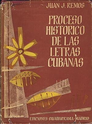 PROCESO HISTÓRICO DE LAS LETRAS CUBANAS: Remos. Juan J.