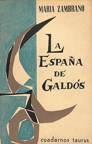 LA ESPAÑA DE GALDÓS: Zambrano. María