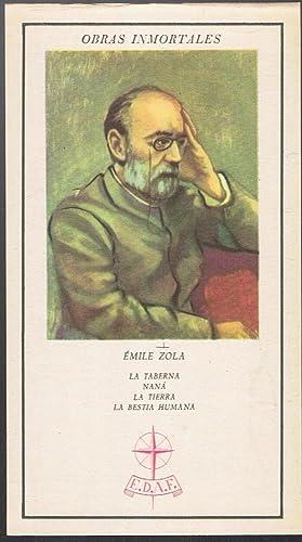 Col. Obras Inmortales. LA TABERNA * NANÁ: Zola. Émile