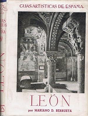 Guías Artísticas de España. LEÓN: Berrueta. Mariano D.