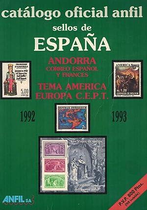 CATÁLOGO OFICIAL ANFIL. SELLOS DE ESPAÑA. ANDORRA.: ANFIL.