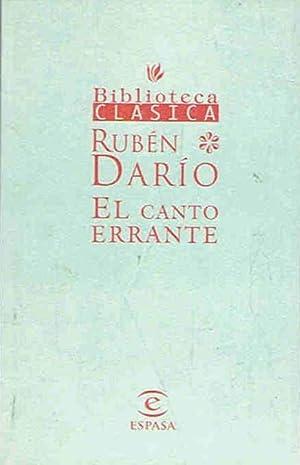 EL CANTO ERRANTE: Darío. Rubén