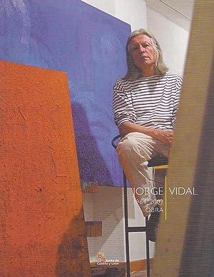 JORGE VIDAL 1964 - 2002. OBRA. PINTURA: Catálogo