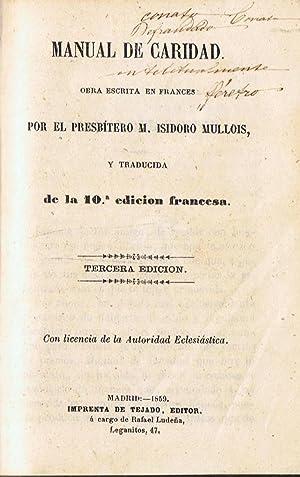 MANUAL DE CARIDAD: Mullois. M. Isidoro