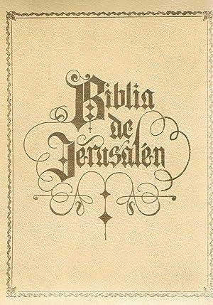 BIBLIA DE JERUSALÉN ILUSTRADA.: Ubieta. José Ángel,