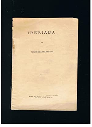 IBERIADA: Tinajero Martínez. Vicente