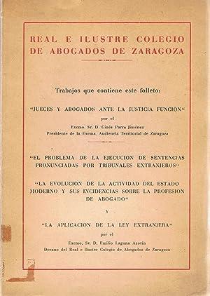 JUECES Y ABOGADOS ANTE LA JUSTICIA FUNCIÓN: Parra Jiménez. Ginés,