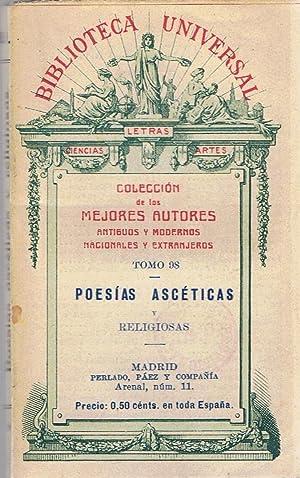 POESÍAS ASCÉTICAS Y RELIGIOSAS.: Poesía