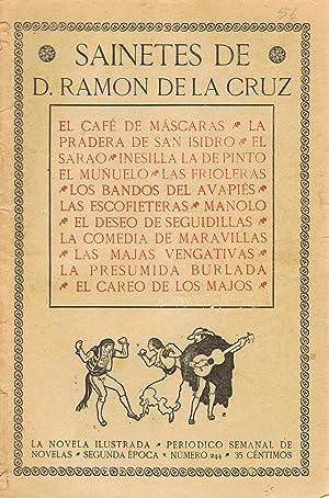 SAINETES. El café de máscaras * La: La Cruz. Ramón