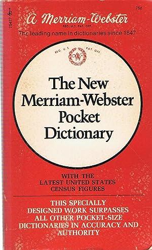 THE NEW MERRIAM-WEBSTER POCKER DICTIONARY: Merriam-Webster
