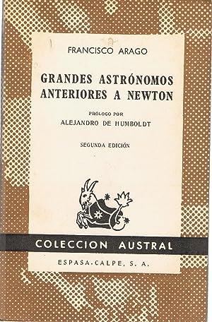 GRANDES ASTRÓNOMOS ANTERIORES A NEWTON: Arago. Francisco