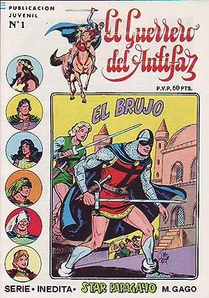 EL GUERRERO DEL ANTIFAZ. SERIE INÉDITA. 30 Núms. Colección Completa. 1ª &...