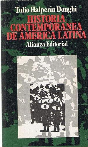 HISTORIA CONTEMPORANEA DE AMÉRICA LATINA: Halperin Donghi. Tulio