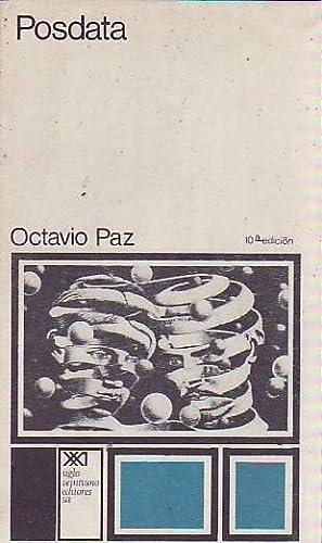 POSDATA: Paz, Octavio