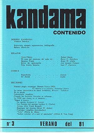 KANDAMA. Fanzine de Ciencia Ficción y Fantasía. 8 Números (todo lo publicado):...