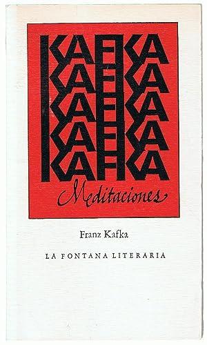 MEDITACIONES: Kafka. Franz