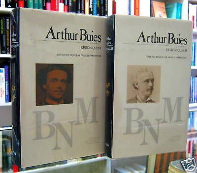 Chroniques. Arthur Buies Fine Hardcover