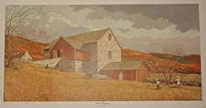 October Gleaning - Lithographic Print: Eric Sloane (1905-1985)