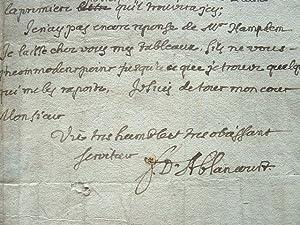 L'historiographe Frémont d'Ablancourt en exil.: Ablancourt (Jacobé de