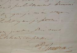Le peintre Philippe Rousseau fait vernir l'un: Rousseau Philippe 1816