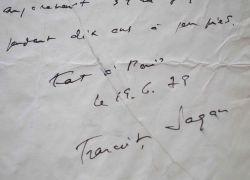 Françoise Sagan héberge son ami Bernard Frank: Sagan Françoise 1935