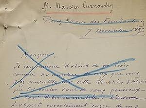 Maurice Curnonsky témoigne sur la génération née: Curnonsky Maurice 1872